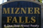 Mizner Falls community sign