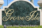 Grove Isle community sign